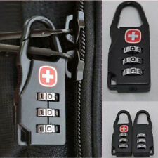 High 3 Digit Mini code Metal Combination Travel Luggage Lock Padlock Password