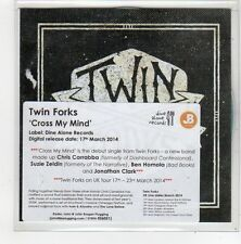 (FN701) Twin Forks, Cross My Mind - 2014 DJ CD