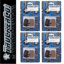 x4 pr TruckerCo S High Performance Disc Brake Pads Hayes Stroker Trail Carbon