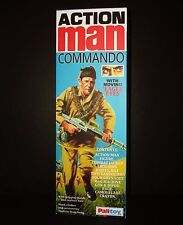 ACTION MAN CUSTOM COMMANDO BOX ONLY (NO FIGURE INCLUDED).