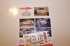 DECALS 1/43 FORD ESCORT COSWORTH MAURIN RALLYE MONT BLANC 2000 RALLY WRC