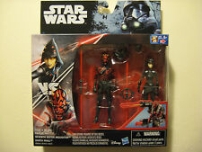 StarWars SEVENTH SISTER INQUISITOR & Darth Maul (very hard to find now!) 2 pack
