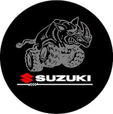 SUZUKI MAD RHINO WHEEL COVER STICKER JIMNY SJ SJ410 VITARA