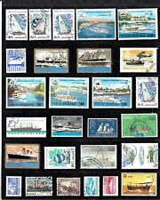 BOATS SHIPS Thematic STAMP COLLECTION Used Ref:TH299