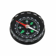Mini Pocket Liquid Filled Button Design Compass for Hiking Camping Outdoor
