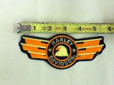 Harley Davidson Embroidered Patch - Vintage Old Stock   Harley Davidson Eagle