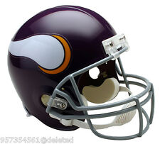 MINNESOTA VIKINGS THROWBACK FULL SIZE FOOTBALL HELMET