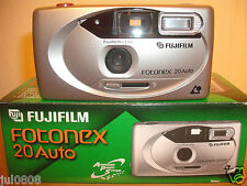 NEW FUJIFILM FOTONEX 20 AUTO APS FILM CAMERA~3 PRINT FORMATS~AUTO FLASH (16M12)