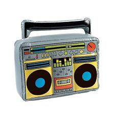 80's Party...Inflatable Boom Box Prop....Rock Party Decoration....80's...Blow Up
