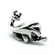 Lucky DRAGON - Nessie - Monster - Solid 925 sterling silver European charm bead