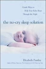 "Elizabeth Pantley ""THE NO-CRY SLEEP SOLUTION"" - Nearly New Softcover"