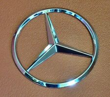 New For Mercedes Benz Chrome Star Trunk Emblem Badge 90mm - Free Shipping