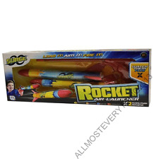BRAND NEW BOXED KIDS BOYS SURGE ROCKET AIR LAUNCHER SUMMER OUTDOOR FUN TOY GIFT