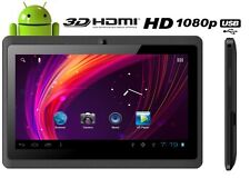 "Tablette PC Tactile 7"" Android Capacitif GOOGLE HD 1080P CAMERA PC 8GB"