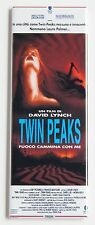 """Twin Peaks Fire Walk With Me (Italy) FRIDGE MAGNET (1.5"""" x 4.5"""") movie poster"""