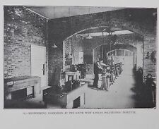 Victorian photo SW London Polytechnic engineering lesson Adult education college