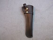 Hunting Style Holster for 1858 Remington, Oiled Brown Leather Right Hand #7059