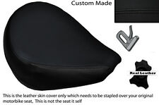 BLACK STITCH CUSTOM FITS YAMAHA XVS 650 CLASSIC V STAR FRONT SEAT COVER