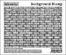 NEW Darkroom Door Rubber Stamp Background Brick