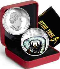 Star Trek $20 2016 1OZ Pure Silver Proof Coin: THE CITY ON THE EDGE OF FOREVER.