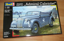 German Staff Car Admiral Cabriolet, Revell 03099 Bausatz Kit in 1:35