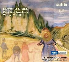 Grieg: Complete Symphonic Works, Vol. 3, New Music