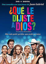 QUE LE DIJISTE A DIOS? *DVD (NO INCLUDED DIGITAL COPY) FREE SHIPPING!!!!!