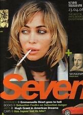 Emmanuelle Beart on Magazine Cover 2006