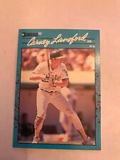1990 Donruss Carney Lansford Oakland A's #117