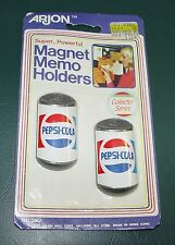 Vintage Pepsi-Cola memo magnets from 1985 - NOS  - Arjon #382