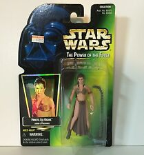 PRINCESS LEIA Jabba's Prisoner Slave STAR WARS POTF 2 1997 Kenner Power of Force