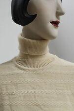 Rollkragenpullover Strickpullover Wolle True Vintage 70er NOS ungetragen OvP