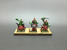 Warhammer fantasy age of sigmar orcs & goblins gobelins squig hoppers peint