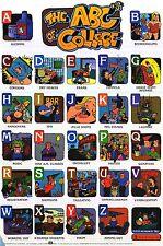DORM POSTER~Vintage 1997 Funny Alphabet A-Z College ABC's Each Letter Represents