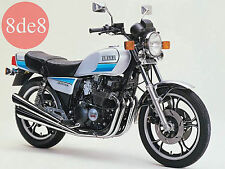 Yamaha XJ 400/500/550 - Manual de taller en CD (En italiano)