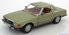 1:18 Sunstar Mercedes 350 SL W107 Hard Top  1977 lightgreen-metallic