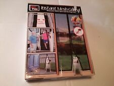 INSTANT MESH GUARD SCREEN DOOR