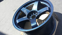 Rota P45R 18x9.5 (5x114.3 +20mm 73 Hub Bore) Cosmic Blue 4 Wheels NEW