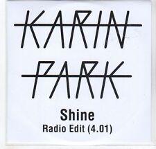 (GC950) Karin Park, Shine - DJ CD