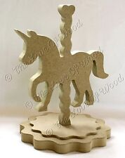 Free Standing Carrusel Unicorn CRAFT forma Mdf 18 Mm De Espesor