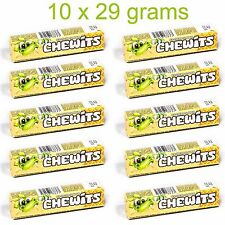 10 x CHEWITS ICE CREAM Flavor Chewy Candy 10 x 29g 1oz
