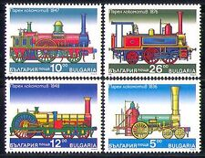 Bulgaria 1996 Transport/Steam Engines/Locomotive/Trains/Rail/Railways 4v n28860