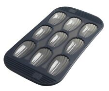 Mastrad F42614 New 9 Madeleine Baking Pan Flexible Silicone with rigid edges