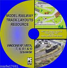 BEST MODEL RAILWAY TRACK LAYOUT COLLECTION MULTI GUAGE HORNBY OO HO Etc NEW PCCD