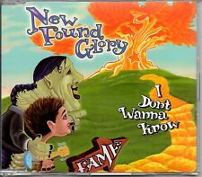 NEW FOUND GLORY - I DON'T WANNA KNOW - RARE PROMO CD SINGLE - MINT