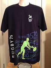 VINTAGE MELBOURE 2006 COMMONWEALTH GAMES RUGBY T SHIRT XL