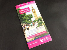 Welcome to London leaflet. Underground Tube and Bus Map - Transport for London.