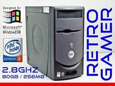 RETRO VINTAGE Dell Windows 98 SE / DOS Computer Pentium 4 Win98 Win98SE