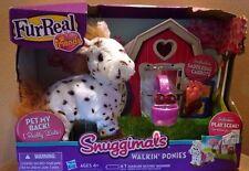 FurReal Friends Snuggimals Walkin` Ponies Sweet Blossom Figure New