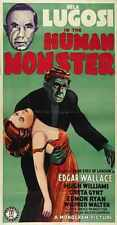 Human Monster Poster 01 Metal Sign A4 12x8 Aluminium